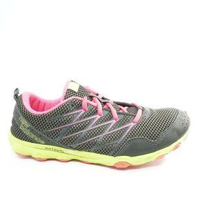 New Balance Womens Running Shoes Black Pink Size 8